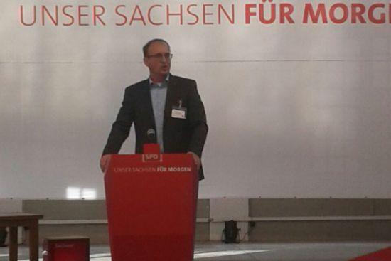 181014 beim SPD Landesparteitag in Dresden