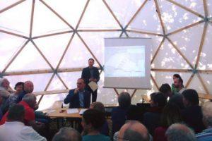 Bei der Anwohnerversammlung in Adelsberg