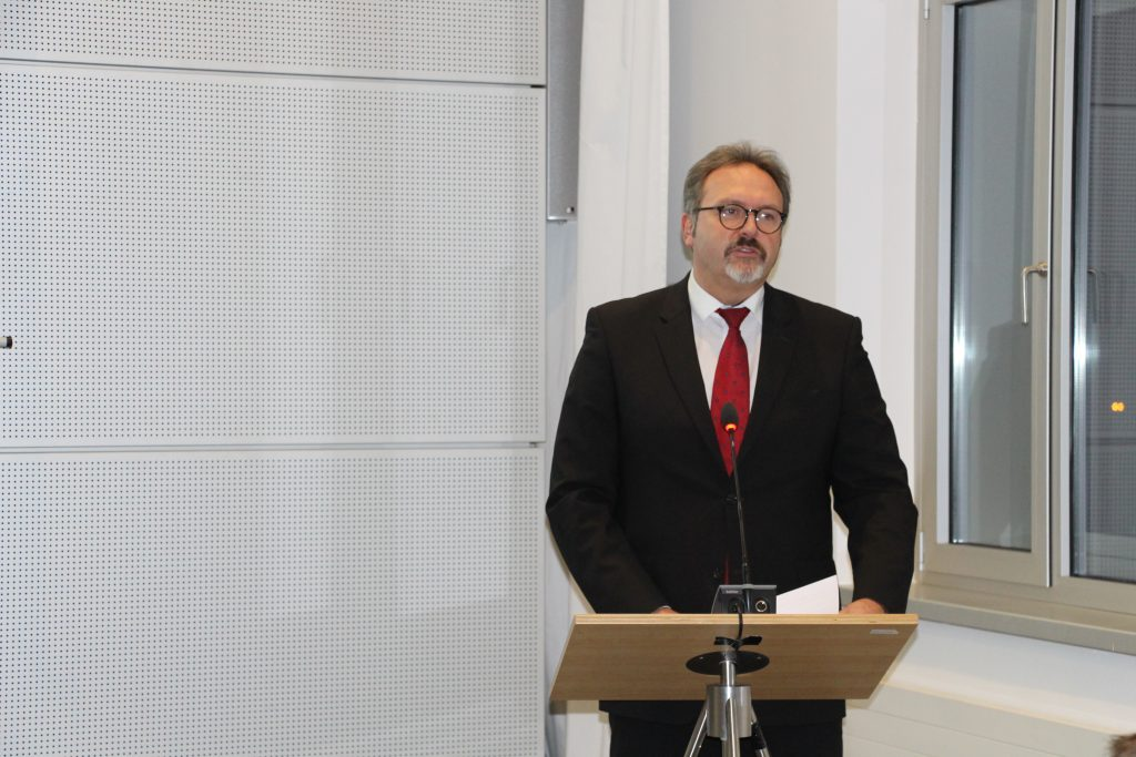 Stefan Brangs, Staatssekretär im Sächsischen Statsministerium für Wirtschaft, Arbeit und Verkehr