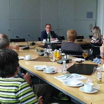 Abgeordneten-Gespräch im Sächsischen Landtag